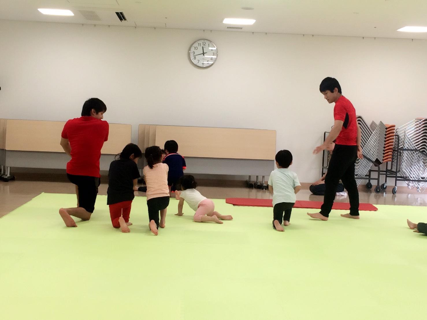 キッズ体操教室!